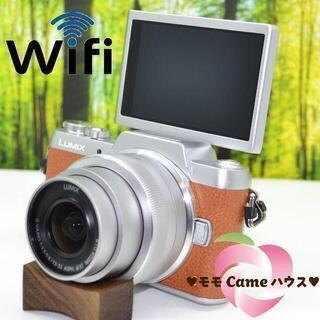パナソニック(Panasonic)のルミックス GF7☆WiFi搭載&自撮りOK♪楽しい機能満載♪1653(ミラーレス一眼)