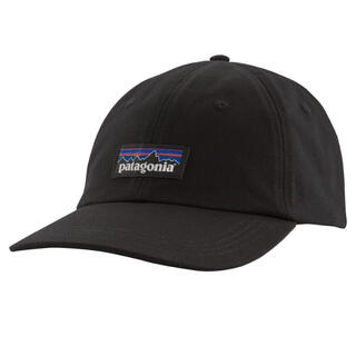 patagonia - パタゴニア P-6 Label Trad Cap 新品 ブラック
