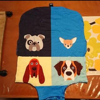 LOQIローキーのイヌの柄ラッゲージ(キャリーバック)カバー (旅行用品)