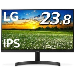 エルジーエレクトロニクス(LG Electronics)の[新品未開封未使用品]LG 24MK600 23.8型モニター(PC周辺機器)