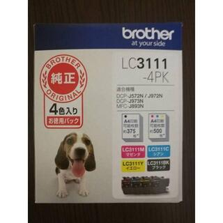 brother - 【新品】 純正 ブラザー インクジェットカートリッジ LC3111-4PK