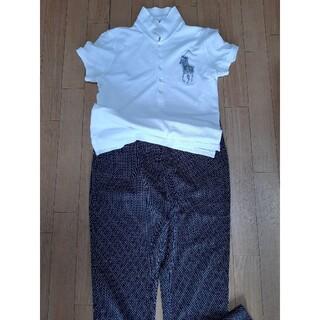 アルマーニ(Armani)のA/X アルマーニ~クロップド👖 サイズ2  白黒織生地 未着品 (クロップドパンツ)