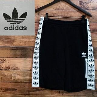 adidas - アディダスサイドラインロゴハーフパンツ size M