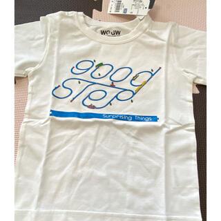 グローバルワーク(GLOBAL WORK)の【新品】グローバルワーク プラレールコラボTシャツM(Tシャツ/カットソー)