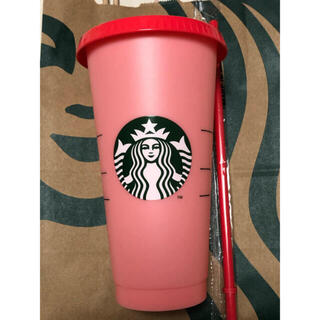 Starbucks Coffee - スターバックス タンブラー カラーチェンジング レッド