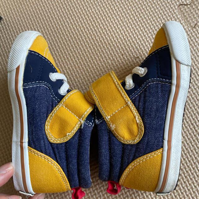 DOUBLE.B(ダブルビー)のミキハウス ダブルビー スニーカー キッズ/ベビー/マタニティのベビー靴/シューズ(~14cm)(スニーカー)の商品写真
