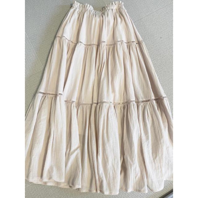 NICE CLAUP(ナイスクラップ)の『お値下げ中』ナイスクラップ ロングスカート レディースのスカート(ロングスカート)の商品写真