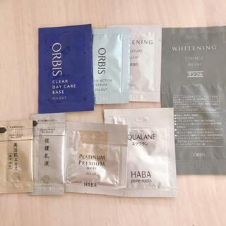 オルビス(ORBIS)の【オルビス.HABA.ドモホルンリンクル】化粧品サンプル8点セット(サンプル/トライアルキット)
