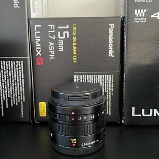 ライカ(LEICA)のLEICA 15mm F1.7 極美品(レンズ(単焦点))