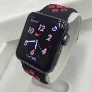 Apple Watch - Apple Watch series2 ナイキ アップルウォッチ 38mm 黒