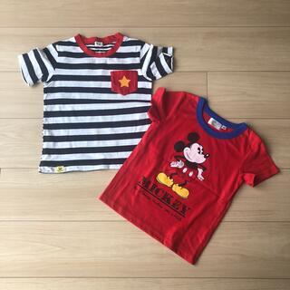 コンビミニ(Combi mini)の男の子 Tシャツ 2枚 120(Tシャツ/カットソー)