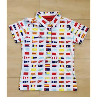 le coq sportif - le coq sportif ♡ 国旗柄 半袖ポロシャツ
