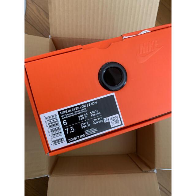 NIKE(ナイキ)のNIKE x sacai ブレーザー LOW  ナイキ×サカイ 24cm レディースの靴/シューズ(スニーカー)の商品写真