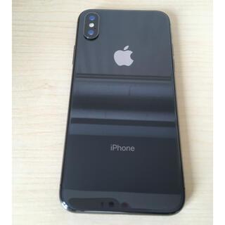 iPhone - iPhone X spacegray 256GB  simフリー