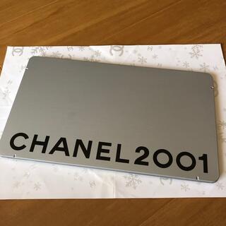 シャネル(CHANEL)のシャネル非売品缶ケースファッションカード入り(ノベルティグッズ)