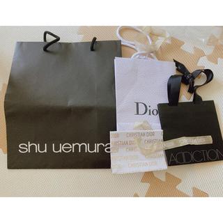 ディオール(Dior)のコスメ 袋 まとめ売り Dior ADDICTION shu uemura(ショップ袋)