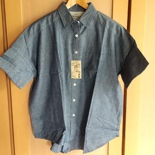 ムジルシリョウヒン(MUJI (無印良品))のMUJI  無印良品  ワイド半袖シャツ(シャツ/ブラウス(半袖/袖なし))