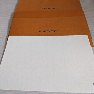 ルイヴィトン(LOUIS VUITTON)のヴィトン メッセージカード 封筒(カード/レター/ラッピング)