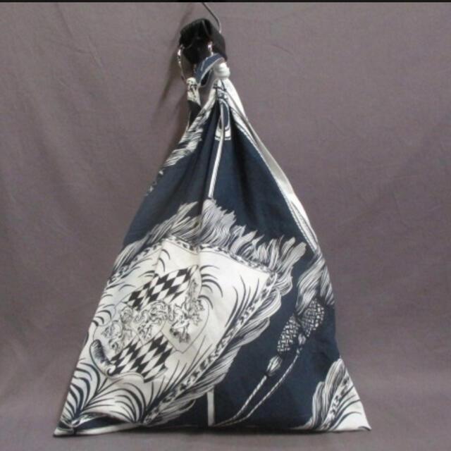 UNITED ARROWS(ユナイテッドアローズ)の<manipuri(マニプリ)>スカーフ ソリッド バッグ L  レディースのバッグ(トートバッグ)の商品写真