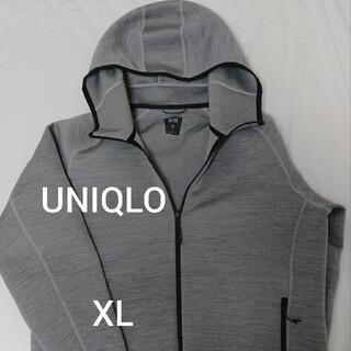 ユニクロ(UNIQLO)のUNIQLO ウルトラストレッチドライスウェットパーカー +パンツ2セット(パーカー)