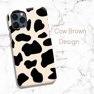 iPhoneケース Androidケース ほぼ全機種対応 牛柄 アニマル柄 牛(スマホケース)