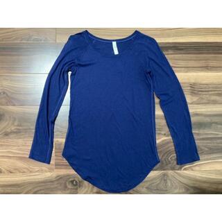ルルレモン(lululemon)のルルレモン Locarno Long Sleeve 長袖Tシャツ 2 超美品☆(Tシャツ(長袖/七分))