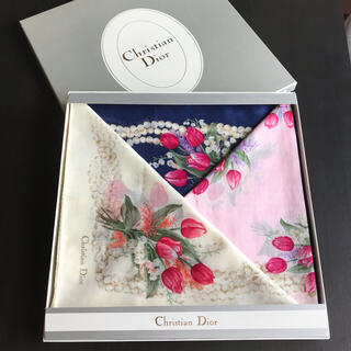 Christian Dior - 【未使用】Christian Dior クリスチャンディオール ハンカチ