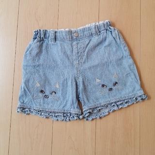 ANNA SUI mini - ANNA SUI mini 猫顔 ショートパンツ 150cm