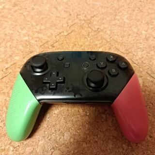 Nintendo Switch - Nintendo SWITCH PROコントローラー スプラトゥーン 純正品①