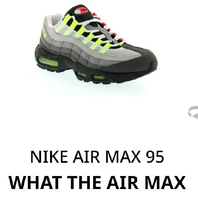 NIKE(ナイキ)のNIKE AIR MAX 95 WHAT THE 28 メンズの靴/シューズ(スニーカー)の商品写真