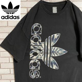 adidas - 90s 古着 アディダス Tシャツ トレフォイルロゴ ビッグシルエット ゆるだぼ