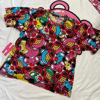 ヒステリックミニ(HYSTERIC MINI)のテディ 半袖(Tシャツ/カットソー)