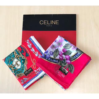 celine - CELINEハンカチセット 新品