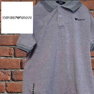 エンポリオアルマーニ(Emporio Armani)のEMPORIO ARMANI エンポリオ アルマーニ ポロシャツ M  ワッペン(Tシャツ/カットソー(半袖/袖なし))