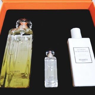 Hermes - 新品未使用 エルメス 李氏の庭オードトワレ ギフトセット 100ml 香水