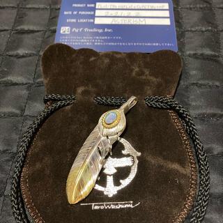 goro's - ◆新品、付属品完品◆鷲見太郎/Lフェザー上銀先金K18YGオパールCUP01