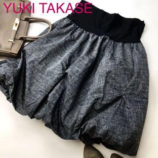 YUKI TAKASE バルーンスカート(ひざ丈スカート)