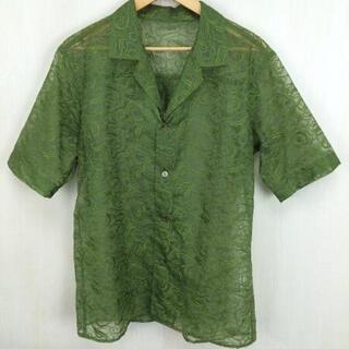 Yohji Yamamoto - sulvam サルバム 19ss レースシャツ M
