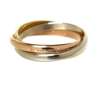 Cartier - カルティエ Cartier トリニティリング SM リング・指輪 レデ【中古】