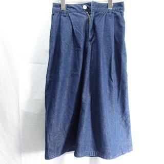 ジーユー(GU)の■GU パンツ ブルー レディースSサイズ(その他)