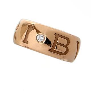 ブルガリ(BVLGARI)のブルガリ BVLGARI モノロゴ リング 1PD リング・指輪 レデ【中古】(リング(指輪))
