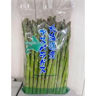 北海道産 朝採れたてのグリーンアスパラ S〜L 1kg(野菜)