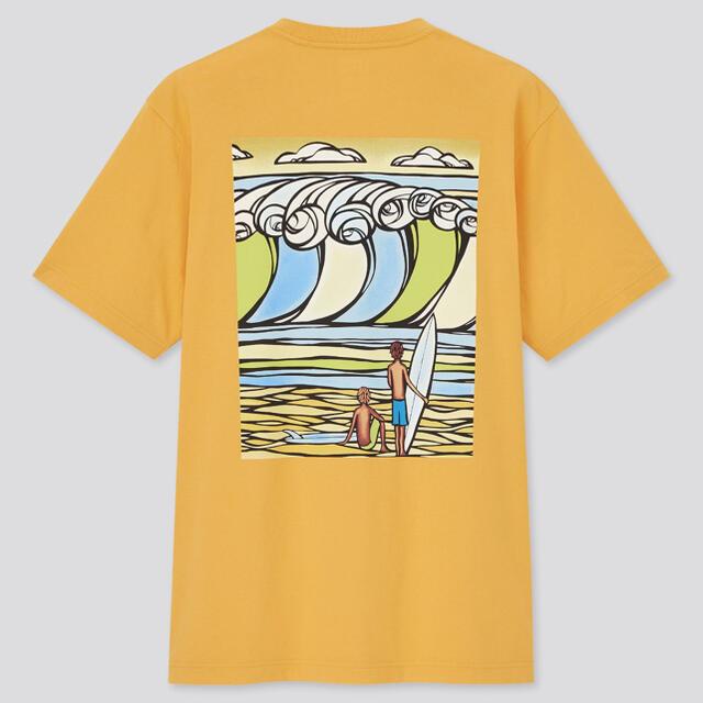 UNIQLO(ユニクロ)のUNIQLO  ×  HeatherBrown  メンズのトップス(Tシャツ/カットソー(半袖/袖なし))の商品写真