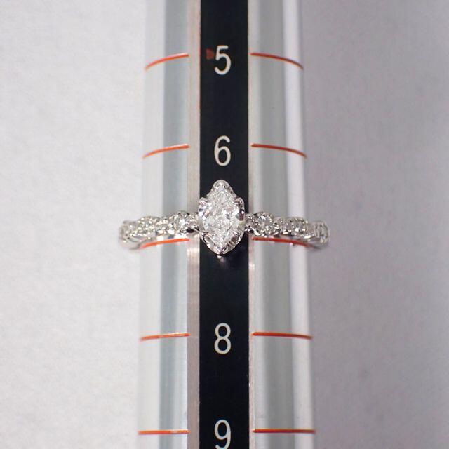 STAR JEWELRY(スタージュエリー)のスタージュエリー/Pt950 ダイヤモンド リング 7号[g475-8] レディースのアクセサリー(リング(指輪))の商品写真