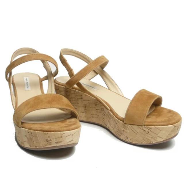 FABIO RUSCONI(ファビオルスコーニ)のFABIO RUSCONIファビオルスコーニ(37)ウェッジサンダル美品 レディースの靴/シューズ(サンダル)の商品写真