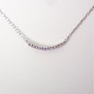 ヨンドシー(4℃)の4℃ K10WG ダイヤモンド ネックレス[g476-2](ネックレス)