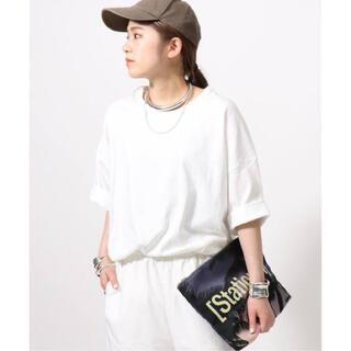 L'Appartement DEUXIEME CLASSE - AP STUDIO  ギザ87 ビッグTシャツ ホワイト