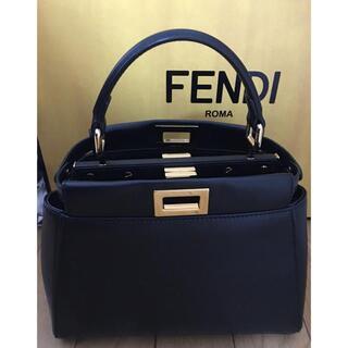 FENDI - FENDI / フェンディ ピーカブー ミニ ブラック