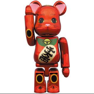 メディコムトイ(MEDICOM TOY)のBE@RBRICK 招き猫 梅金メッキ 100% 1体 ソラマチ 開業9周年記念(その他)