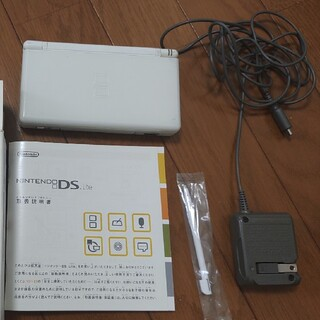 Nintendo DS ニンテンド-DS LITE クリスタルホワイト 本体